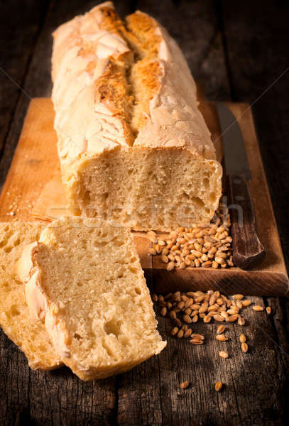 Serbian bread Stock photo © badmanproduction
