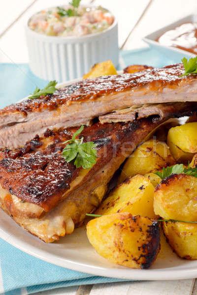 Meat and potato Stock photo © badmanproduction
