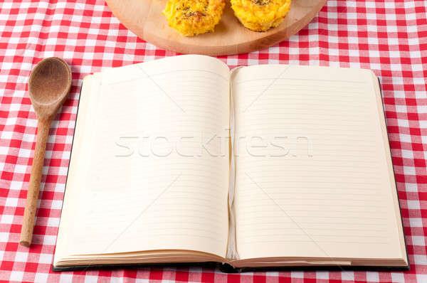 Cookbook Stock photo © badmanproduction
