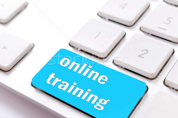 Online training Stock photo © badmanproduction