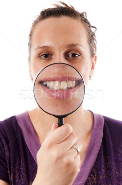 Big smile Stock photo © badmanproduction