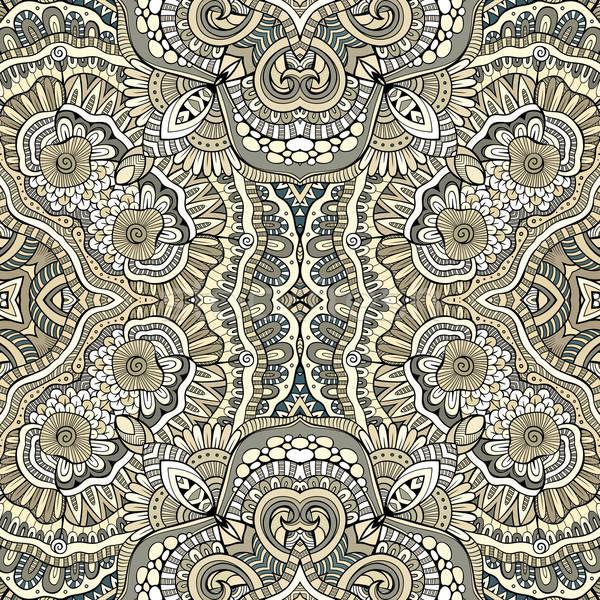 Absztrakt vektor dekoratív kisebbségi kézzel rajzolt vázlatos Stock fotó © balabolka