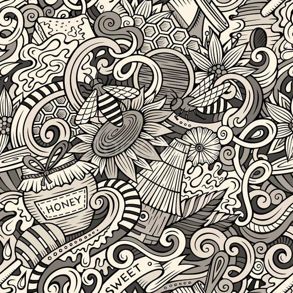 Desenho animado bonitinho mel Foto stock © balabolka