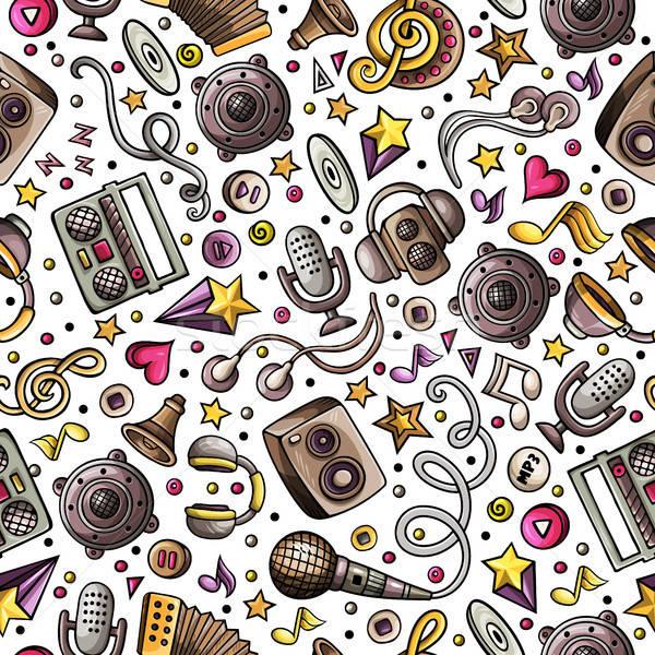 漫画 楽器 音楽 シンボル オブジェクト ストックフォト © balabolka