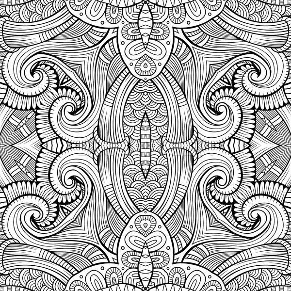 抽象 向量 民族 裝飾的 手工繪製 商業照片 © balabolka