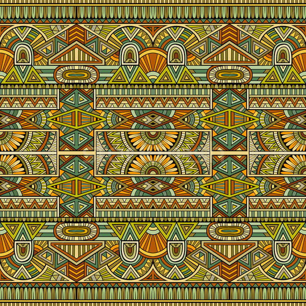 Törzsi kisebbségi végtelen minta absztrakt vektor divat Stock fotó © balabolka