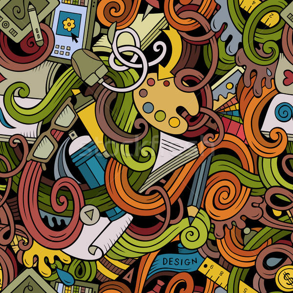 漫畫 塗鴉 設計 藝術 商業照片 © balabolka
