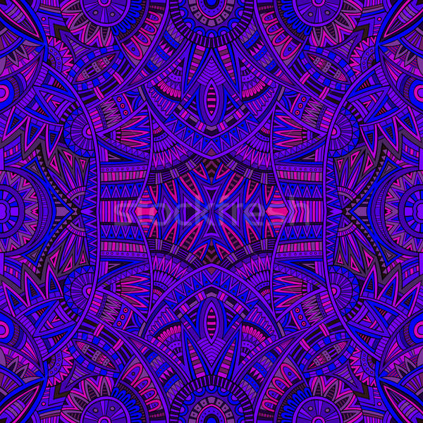 tribal ethnic seamless pattern Stock photo © balabolka
