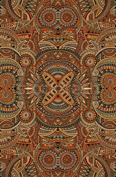 Abstrato vetor tribal étnico decorativo Foto stock © balabolka