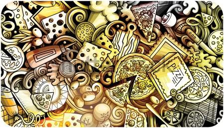 向量 漫畫 部落的 分子 手工繪製 商業照片 © balabolka