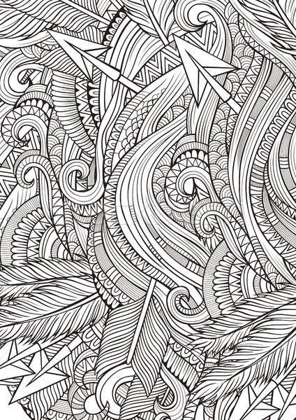Abstract scarabocchi etnica pattern Foto d'archivio © balabolka