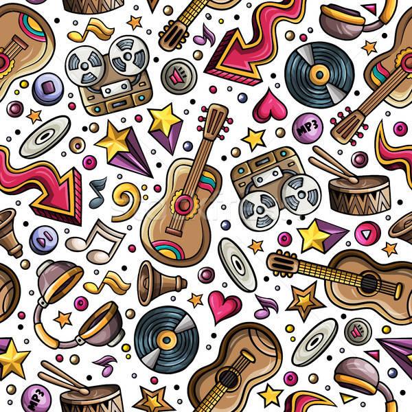 Desenho Animado Instrumentos Musicais Musica Simbolos
