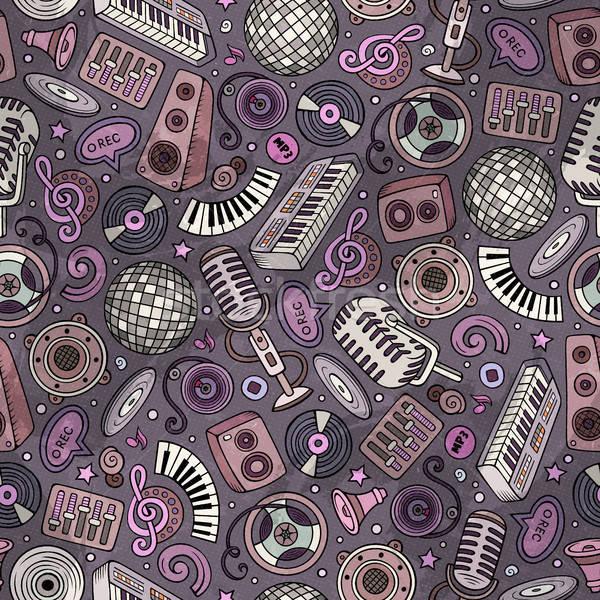 漫画 ディスコ 音楽 シンボル オブジェクト ストックフォト © balabolka