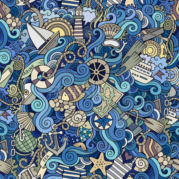 Deniz soyut model deniz Stok fotoğraf © balabolka