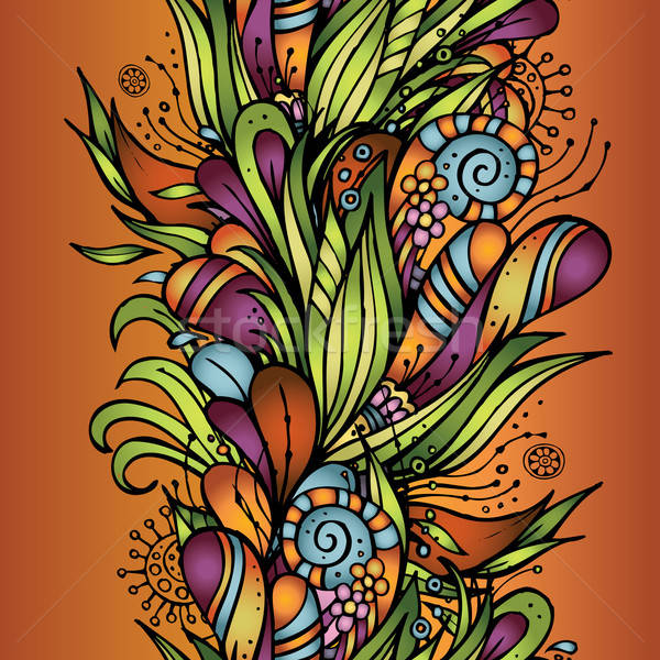 Resumen decorativo naturaleza hermosa floral Foto stock © balabolka