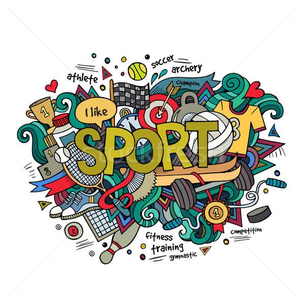 商业照片: 运动 ·手· 涂鸦 · 分子 · 健康 · 足球