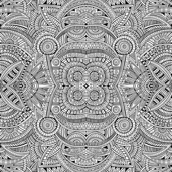 Absztrakt vektor törzsi kisebbségi végtelen minta nyár Stock fotó © balabolka