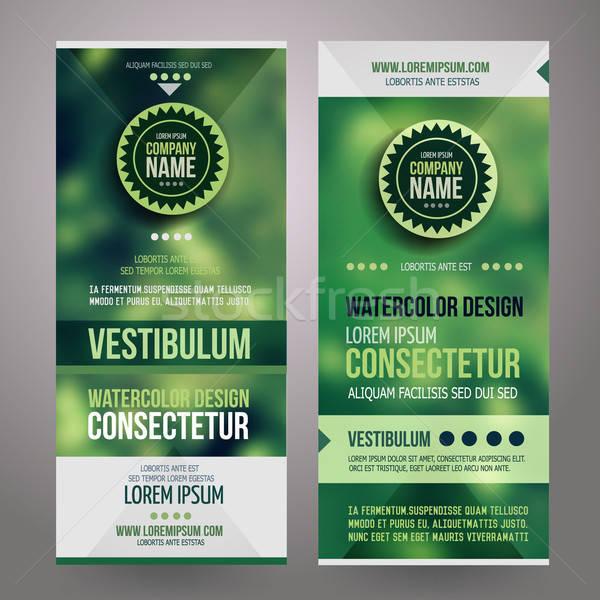 Сток-фото: вектора · корпоративного · личности · дизайна · расплывчатый