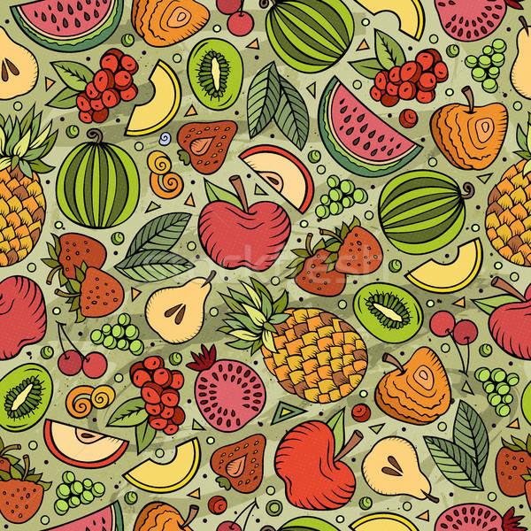 Stock fotó: Rajz · diéta · étel · végtelen · minta · szimbólumok · tárgyak