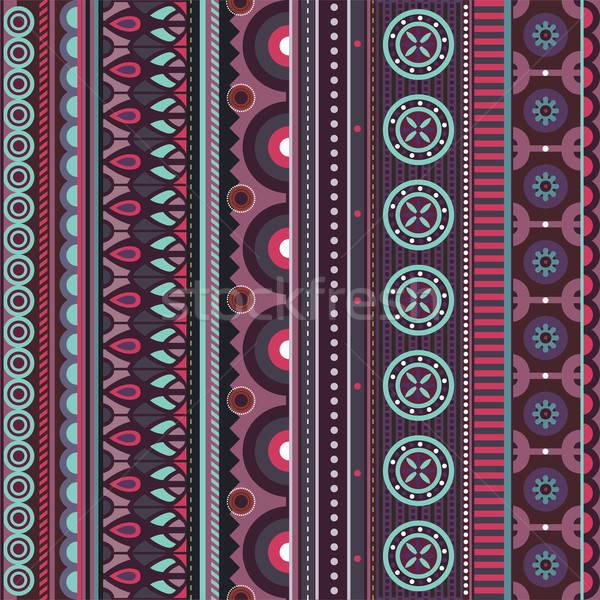 Geometrica vettore motivi diverso Foto d'archivio © balabolka
