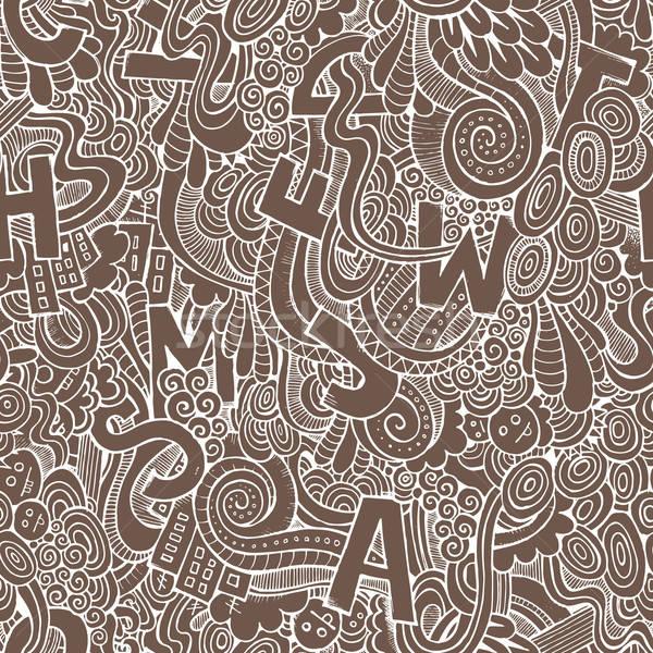 Stockfoto: Brieven · abstract · decoratief · mode