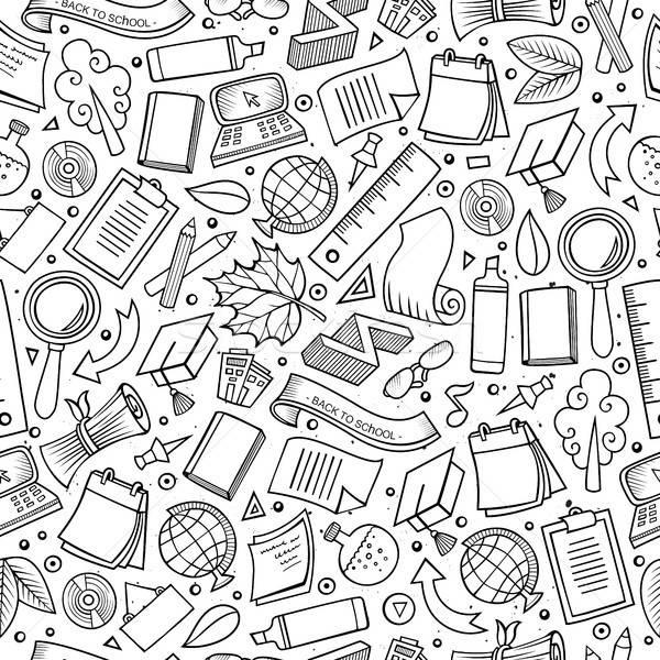 ストックフォト: 漫画 · かわいい · 手描き