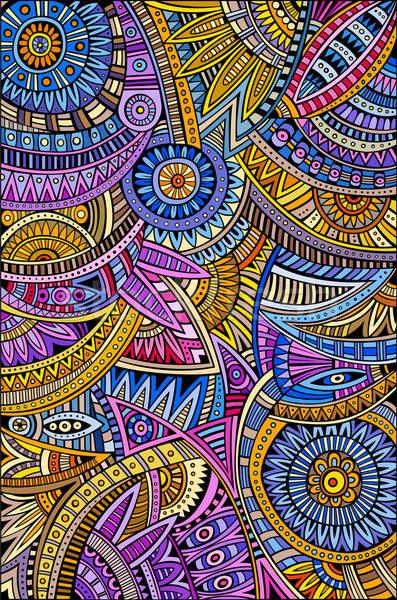 Streszczenie wektora plemiennych etnicznych wzór dekoracyjny Zdjęcia stock © balabolka