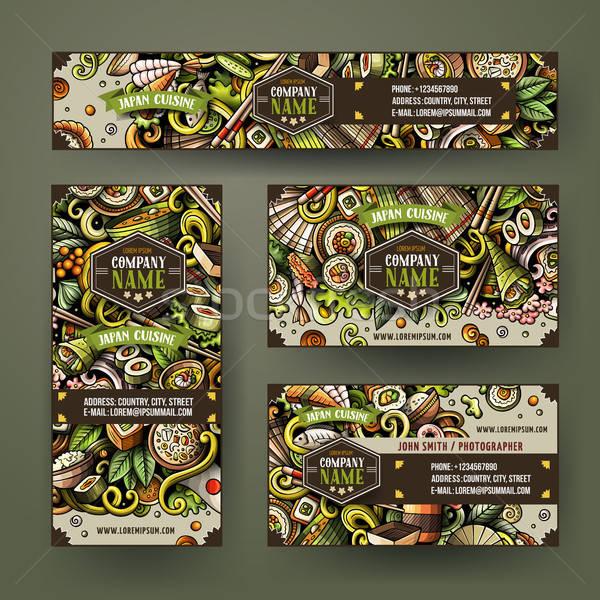 Korporacyjnych tożsamości wektora szablony zestaw projektu Zdjęcia stock © balabolka