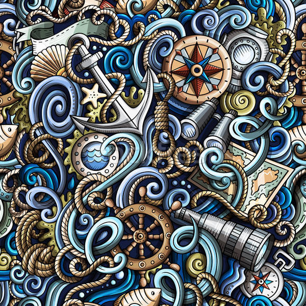 Desenho animado detalhado objetos Foto stock © balabolka