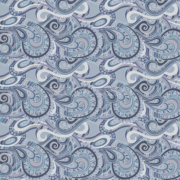 Stock photo: Seamless paisley pattern