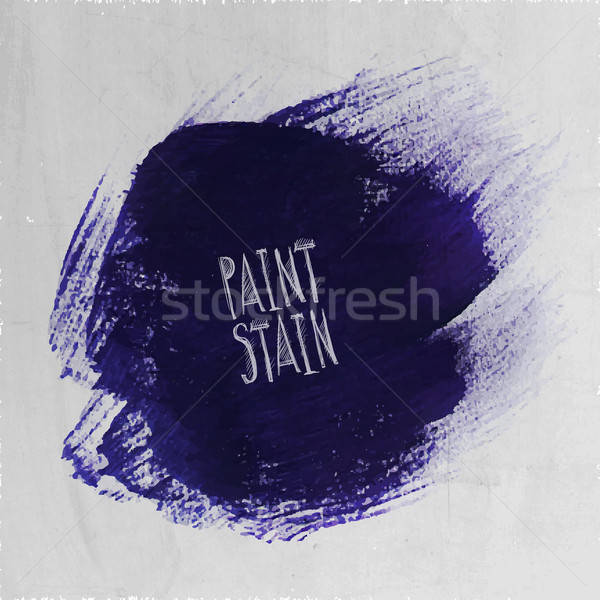 Vector grunge paint abstract background Stock photo © balabolka