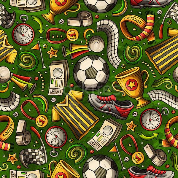 漫画 サッカー シンボル オブジェクト 要素 ストックフォト © balabolka
