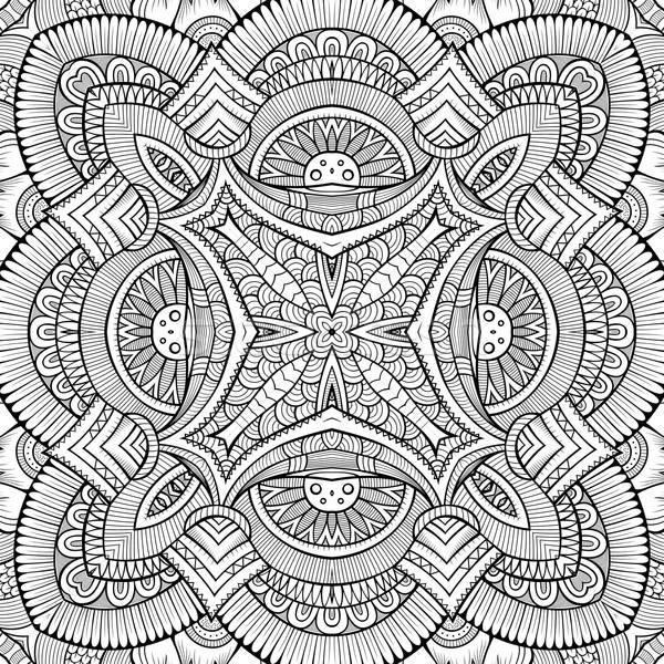Abstract vettore tribali etnica decorativo Foto d'archivio © balabolka