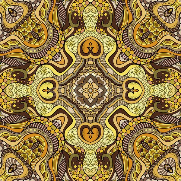 Absztrakt vektor dekoratív természet kisebbségi kézzel rajzolt Stock fotó © balabolka