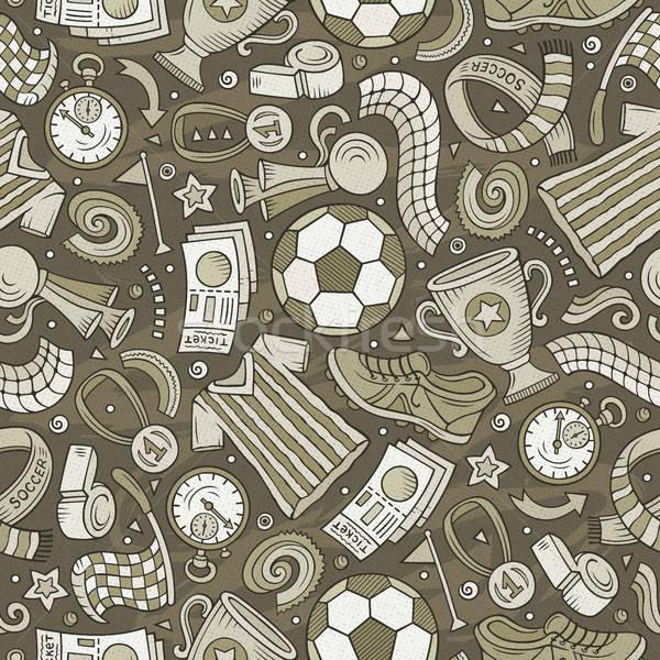 漫畫 足球 符號 對象 分子 商業照片 © balabolka