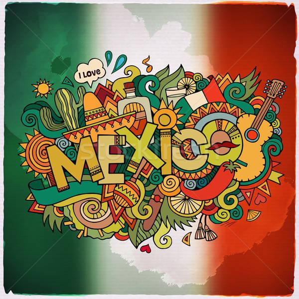メキシコ 国 手 要素 シンボル ストックフォト © balabolka