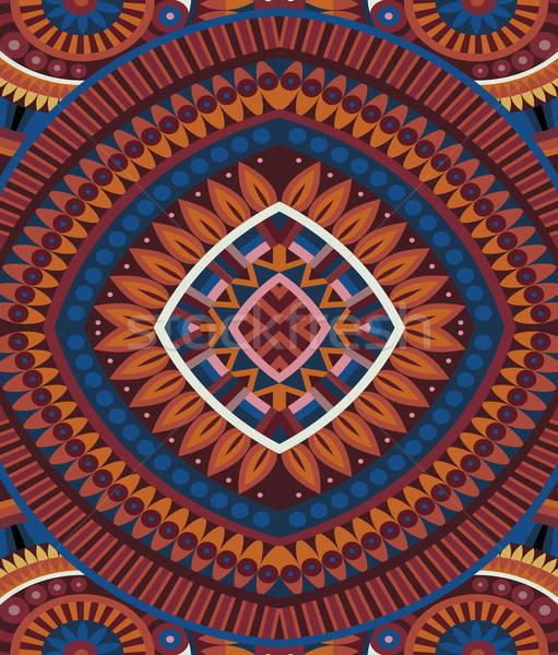 Streszczenie wektora plemiennych etnicznych projektu Zdjęcia stock © balabolka