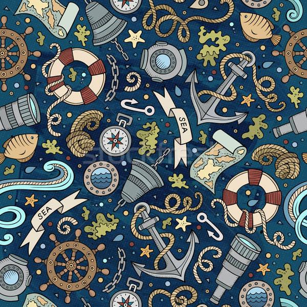 漫画 海洋 カラフル 詳しい ストックフォト © balabolka