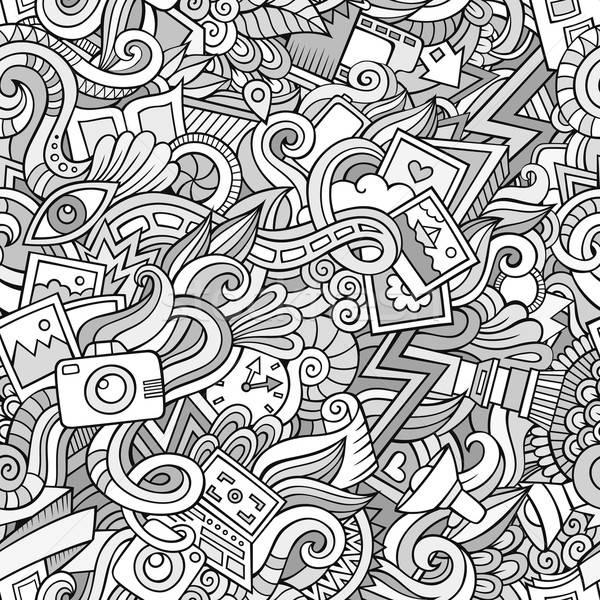 ストックフォト: 漫画 · 写真 · 行 · 芸術