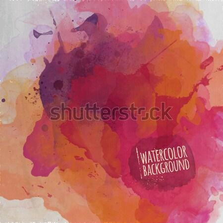 Zdjęcia stock: Wektora · wzór · geometryczny · kolorowy · miasta