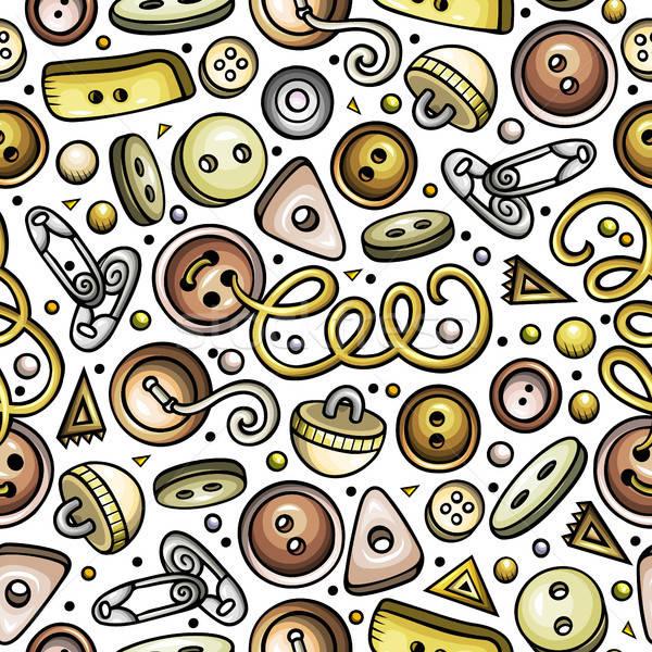 Desenho animado bonitinho feito à mão detalhado Foto stock © balabolka