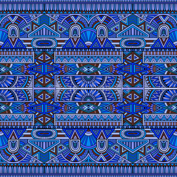 tribal ethnic seamless pattern Stock photo © balabolka