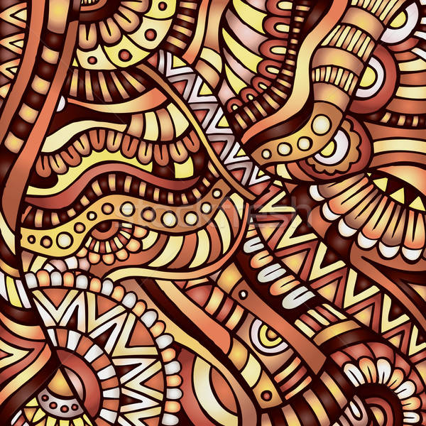Stock photo: ethnic vector pattern