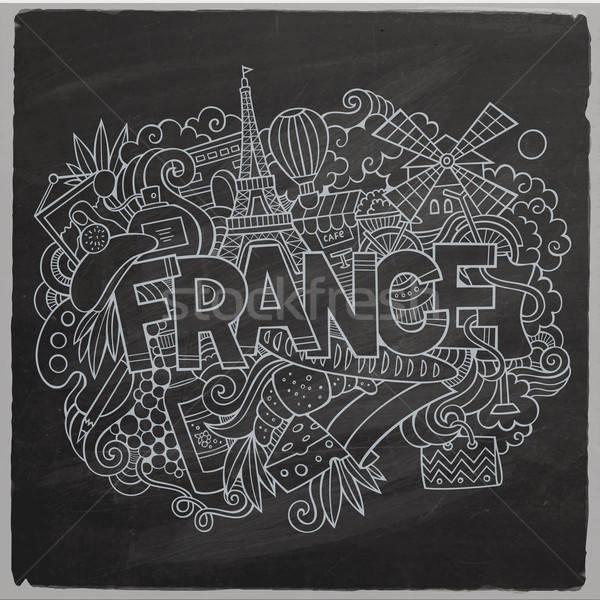 Сток-фото: Франция · стране · стороны · Элементы