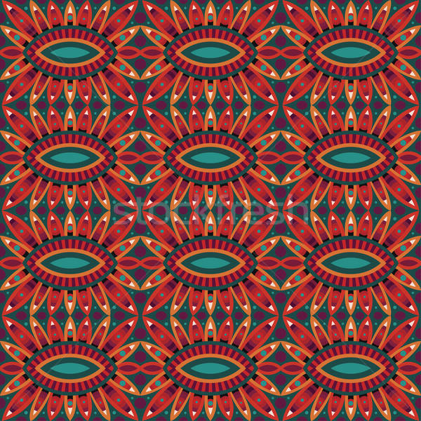 аннотация племенных этнических вектора фон Сток-фото © balabolka
