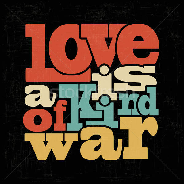 Quote Typographical retro Background Stock photo © balasoiu