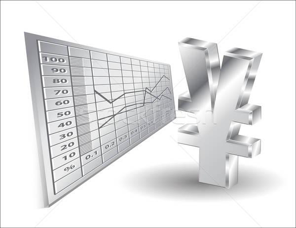 金融 3D 円 にログイン ビジネス 金属 ストックフォト © balasoiu