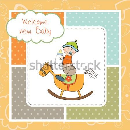 Stockfoto: Douche · kaart · teddybeer · verborgen · schoen · liefde