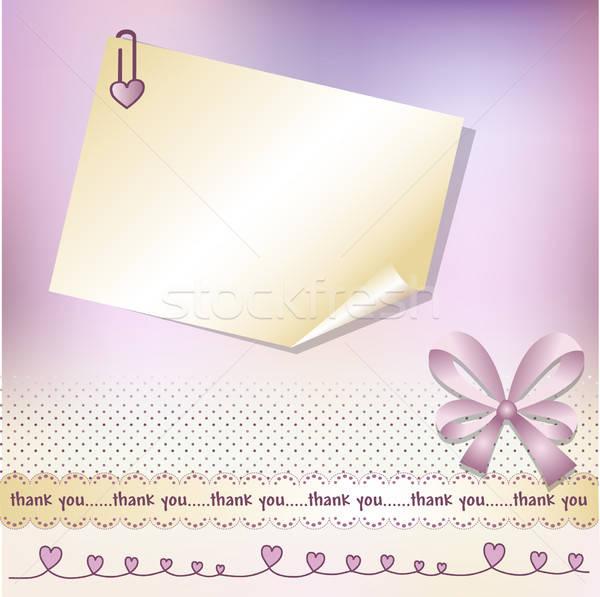 ありがとう カード 休日 喜び ポスト イベント ストックフォト © balasoiu