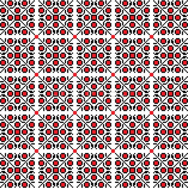 seamless ethnic pattern Stock photo © balasoiu